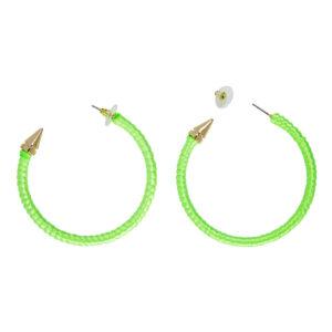 Örhängen Neongröna