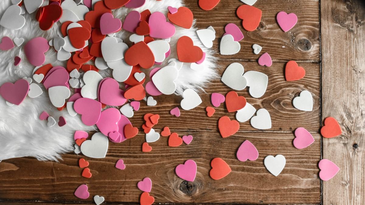 Hjärtan på alla hjärtans dag