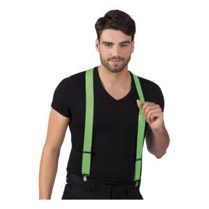 Hängslen Neon - Grön