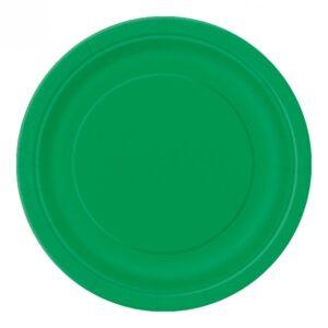 Pappersassietter Gröna - 8-pack
