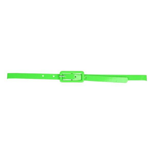 80-tals Bälte Neongrön - One size