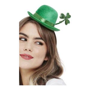 Bowlerhatt Mini St Patricks Day Grön - One size