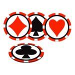 Glasunderlägg Casino - 8-pack