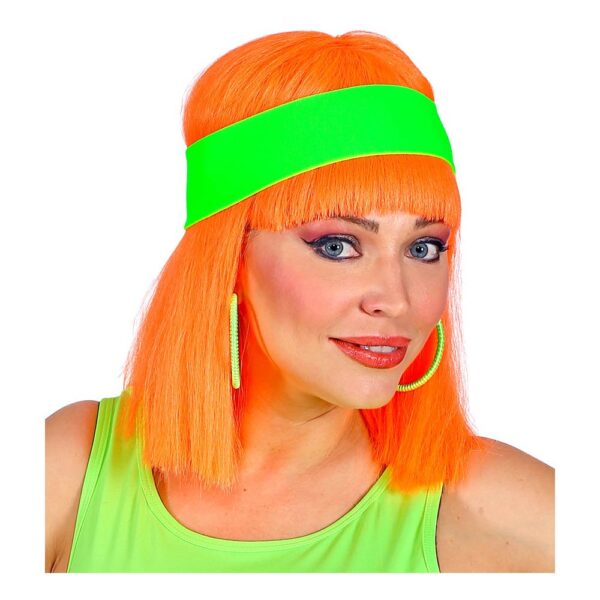 Hårband Neongrön - One size
