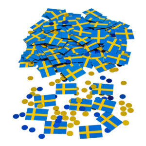 Konfetti Svenska Flaggan