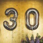 30 årsfest – Fira 30 årsfest med dunder och brak!