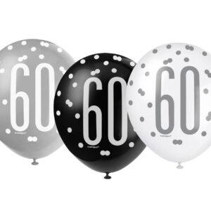 Ballonger Mix 60 år