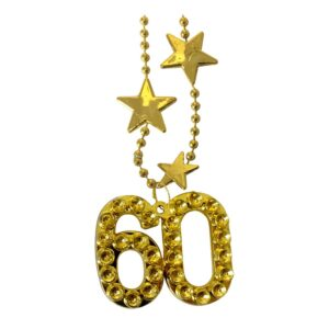 Halsband Guld Siffra 60