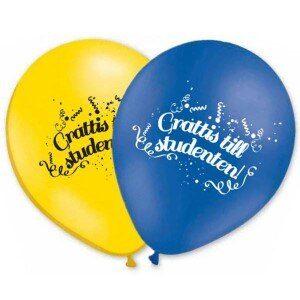 Studentballonger Grattis Till Studenten