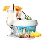 Slush Ice & Drinkbål - Pina Colada