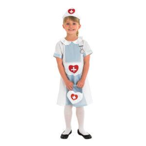 Sjuksköterska Barn Maskeraddräkt - Large