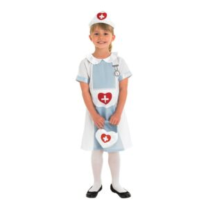 Sjuksköterska Barn Maskeraddräkt - Medium