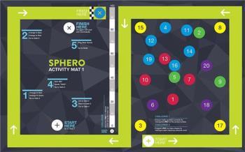 Sphero Activity Mat 1 - Racetrack mat