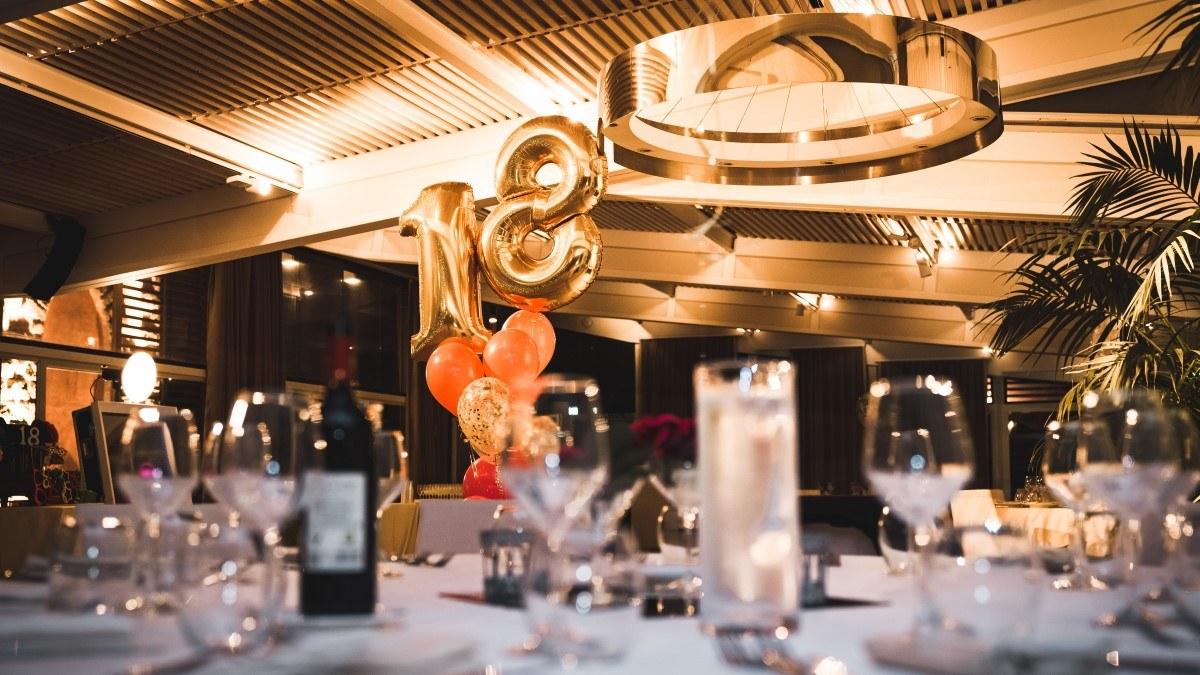 Fixa bästa 18-årsfesten