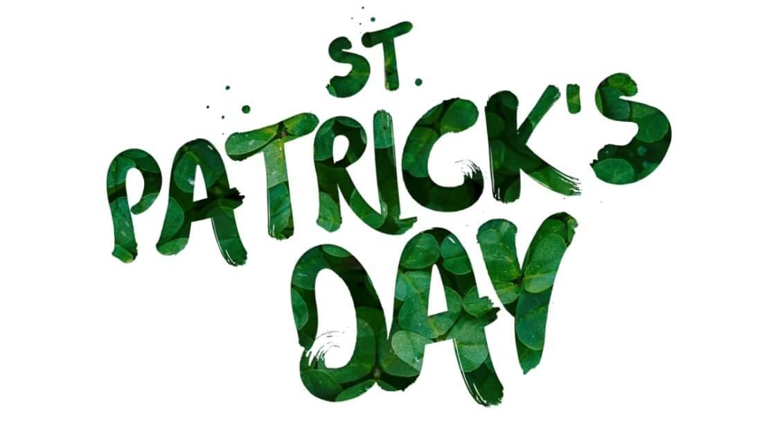 St Patricks day med tillbehör